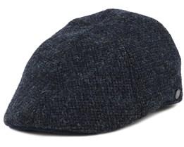 Texas Wool Navy Flat Cap - Stetson