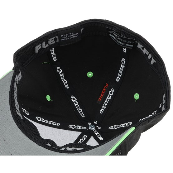 Metric Black Flexfit Alpinestars Caps