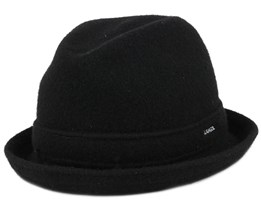 Wool Player Black Fedora - Kangol