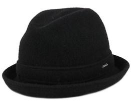 Wool Player Black Fedora - Kangol