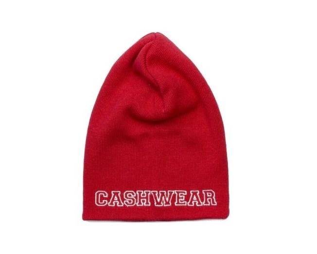 1-Line Red Mössa - Cashwear