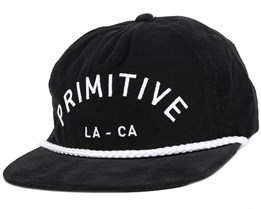 Standard Arch Black Snapback - Primitive Apparel