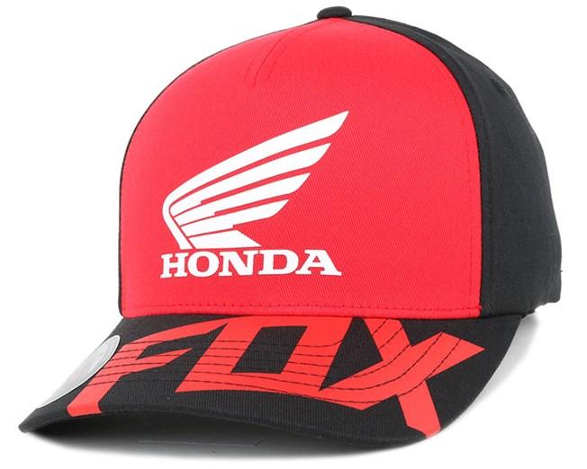 Honda Basic Red Black Flexfit - Fox 4864e80e833