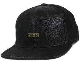 Luxe Black Snapback - King Apparel