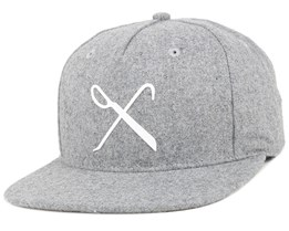 Handcraft Grey Snapback - King Apparel