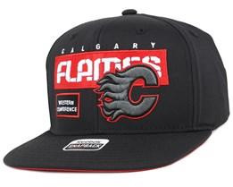 Calgary Flames Cool N Dry Snapback - Reebok