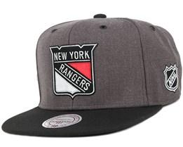 NY Rangers G3 Logo Snapback - Mitchell & Ness