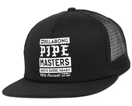 Pipe Poster Black Snapback - Billabong