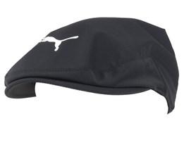 Tour Driver Black Flat Cap - Puma Cobra