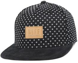 Kilted Black Snapback - Neff