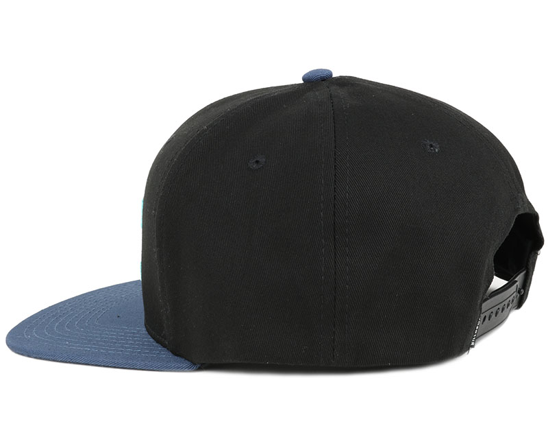 all day black blue snapback billabong casquette. Black Bedroom Furniture Sets. Home Design Ideas