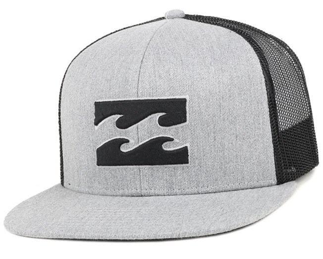 All Day Grey Heather Snapback - Billabong