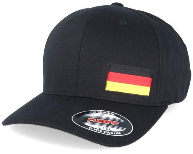 Germany Flag Side Black Flexfit - Iconic