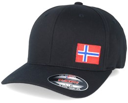 Norway Flag Side Black Flexfit - Iconic