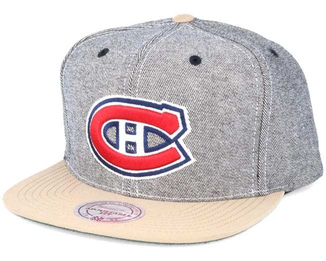 free shipping 8b2df a9e70 ... order montreal canadiens denim khaki snapback mitchell ness 4f72d 1e4ea