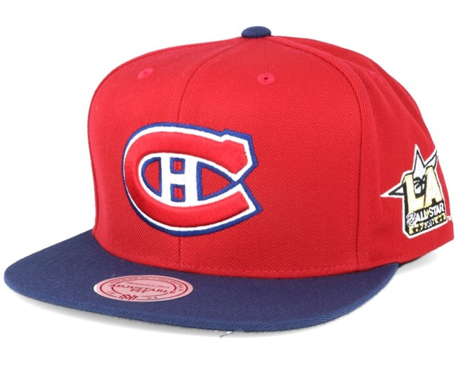 Montreal Canadiens NHL 2017 ASG 2T Snapback - Mitchell   Ness lippis ... aa33575bc7