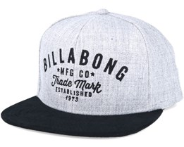 Sama Grey Heather Snapback - Billabong