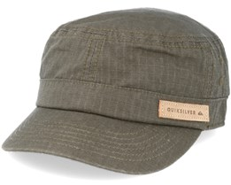 Renegade 2 Dusty Olive Army Cap - Quiksilver