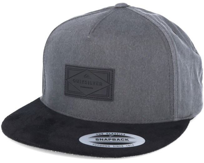 Fineline Black Snapback - Quiksilver