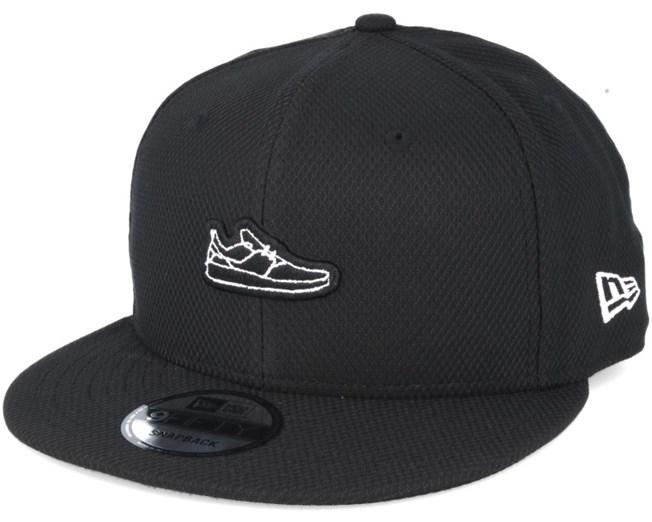 Shoey Black Snapback - DC