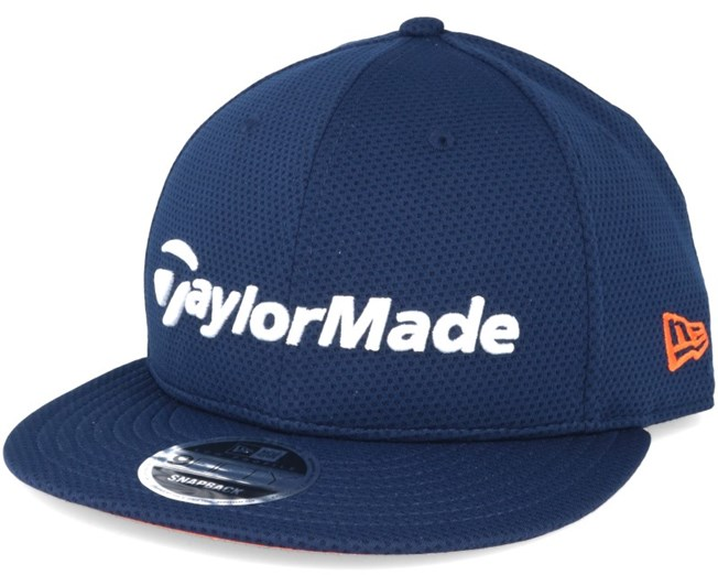 Performance Navy/Orange 9Fifty Snapback - Taylor Made