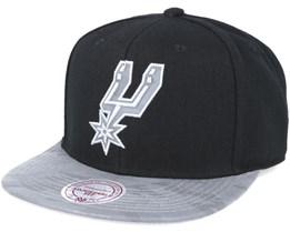 San Antonio Spurs Reflective Camo Snapback - Mitchell & Ness