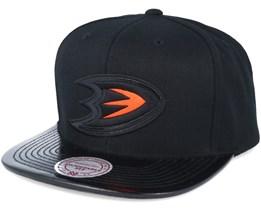Anaheim Ducks Patent 2T/Tonal Snapback - Mitchell & Ness