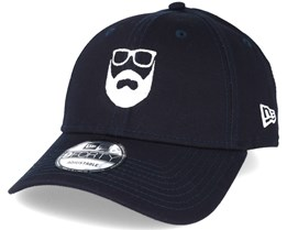 Logo NE Navy 940 Adjustable - Bearded Man