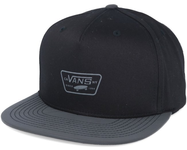 Reflect Black Snapback - Vans