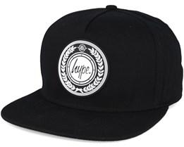 Hype Crest Black Snapback - Hype