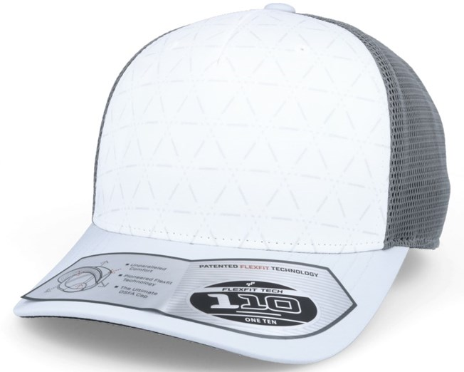 Climacool Mesh White/Clear Grey Trucker - Adidas