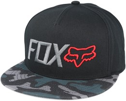 Obsessed Black Snapback - Fox