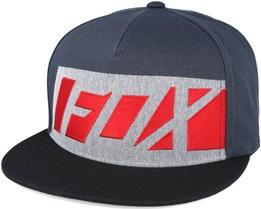 Seca Wrap Black Snapback - Fox