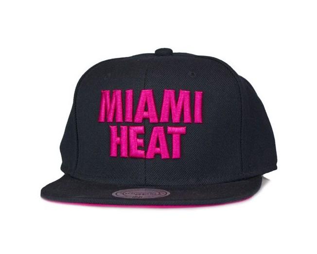Miami Heat Title Snapback - Mitchell & Ness