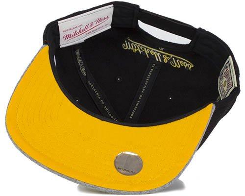 LA Lakers Melton Jersey Snapback - Mitchell & Ness caps ...