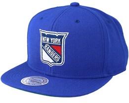 NY Rangers Wool Solid Snapback - Mitchell & Ness