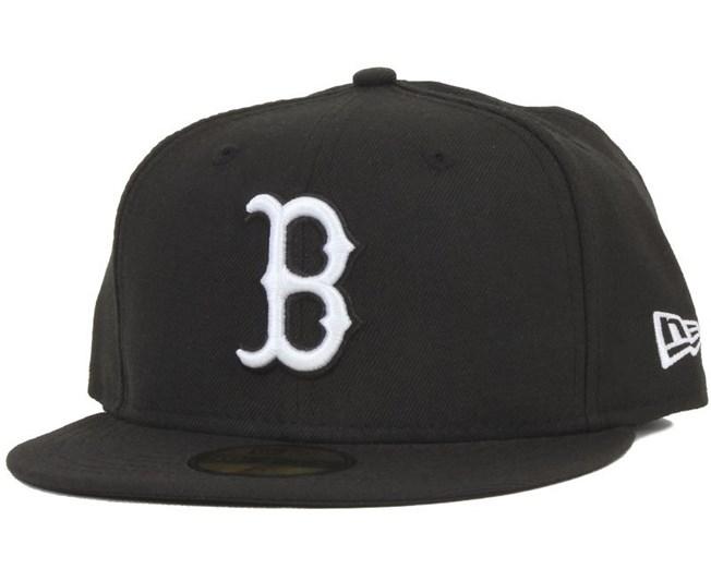 Boston Red Sox MLB Basic Black/White 59Fifty - New Era