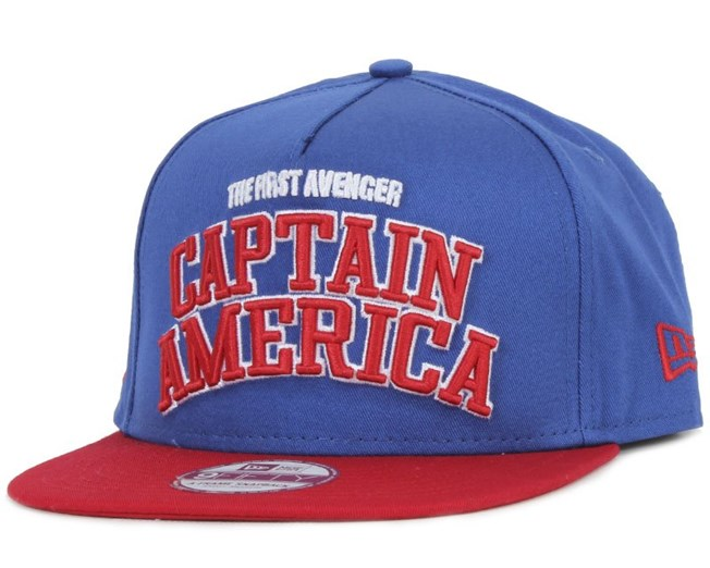 Captain America Character Arch Official - New Era
