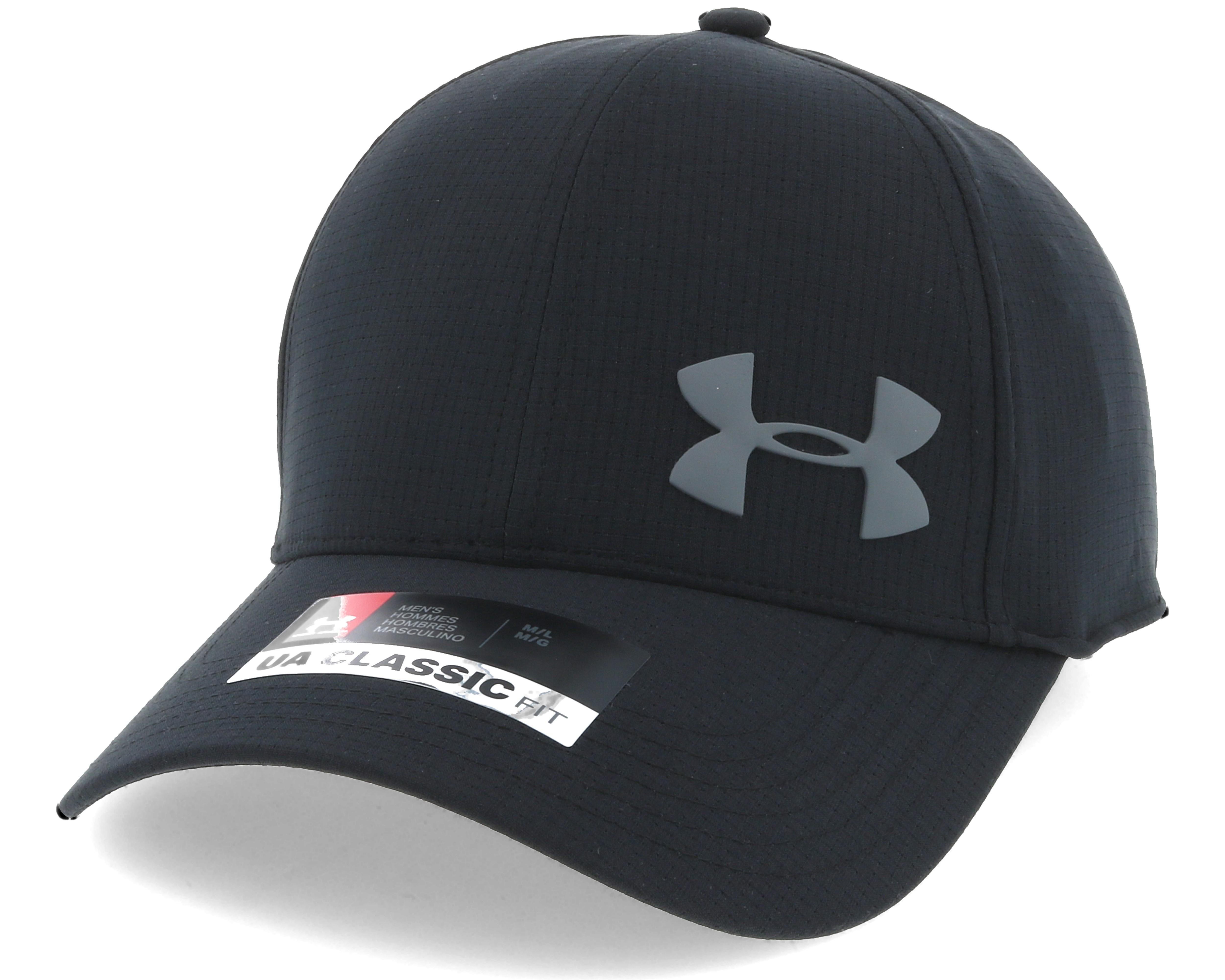 Airvent Core Black Flexfit Under Armour Caps Hatstore