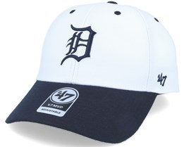 Detroit Tigers Audible 2 Tone Mvp White/Navy Adjustable - 47 Brand