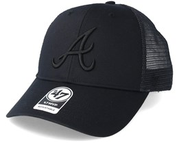 Atlanta Braves Branson Black Trucker - 47 Brand