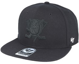 Anaheim Ducks Sure Shot Captain Black Snapback - 47 Brand