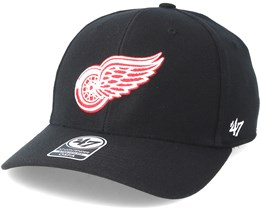 Detroit Red Wings Contender Black Flexfit - 47 Brand