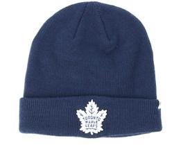 Toronto Maple Leafs Raised Knit Navy Cuff - 47 Brand
