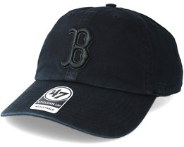 Boston Red Sox Clean Up Black Adjustable - 47 Brand