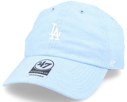 Los Angeles Dodgers Monument Salute Light Blue Clean Up Adjustable - 47 Brand