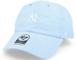 New York Yankees Monument Salute Light Blue Clean Up Adjustable - 47 Brand