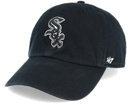 Chicago White Sox Black Clean Up Black Adjustable - 47 Brand