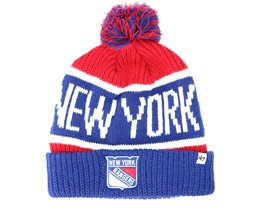 New York Rangers  Breakaway Knit Red Pom - 47 Brand