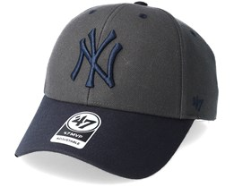 New York Yankees Audible Two Tone Charcoal/Navy Adjustable - 47 Brand